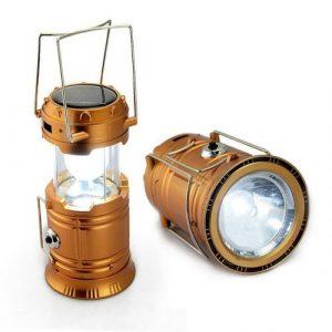 LED kamperska solarna svjetiljka