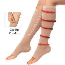 kompreijske čarape sa zatvaračem