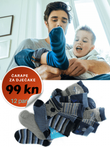 čarape za dječake