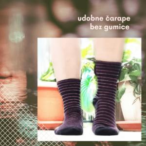 čarape bez gume