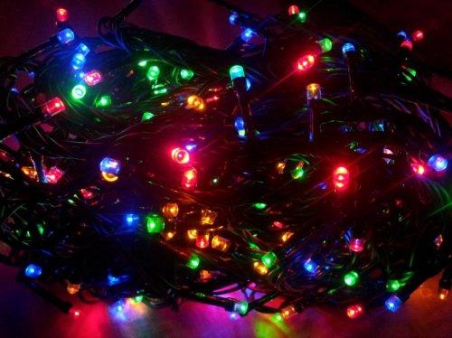LED lampice 200 multicolor ili ledenobijele