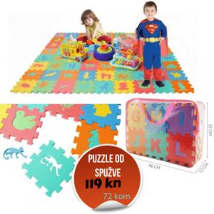 puzzle od spužve